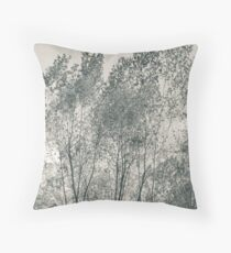Trees - Garlo Heritage Nature Preserve Throw Pillow