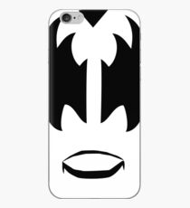 Gene Simmons from KISS band, The Demon makeup iPhone Case
