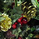 Christmas foliage by Caroline Anderson