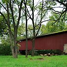 covered bridge by Penny Fawver
