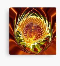 Abstract - Ripples Magic and Fractalius Canvas Print