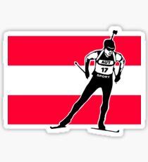 Austria Biathlon  Sticker