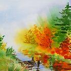 Impressionistic Fall by Irina Sztukowski