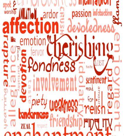 What Is Love Sticker