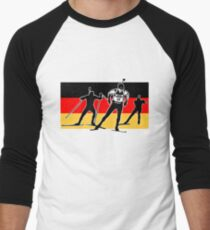 German Biathlon  Men's Baseball ¾ T-Shirt