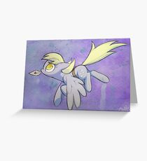 Derpy Hooves has mail Greeting Card