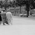 1989 - trinity leaving church by Ursa Vogel