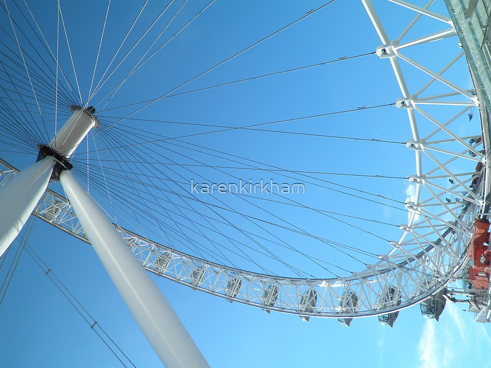 London Eye  by karenkirkham