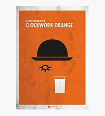 Clockwork Orange Film Poster Photographic Print