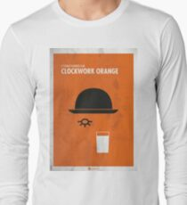 Clockwork Orange Film Poster Camiseta de manga larga