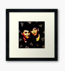Danisnotonfire & AmazingPhil  Framed Print