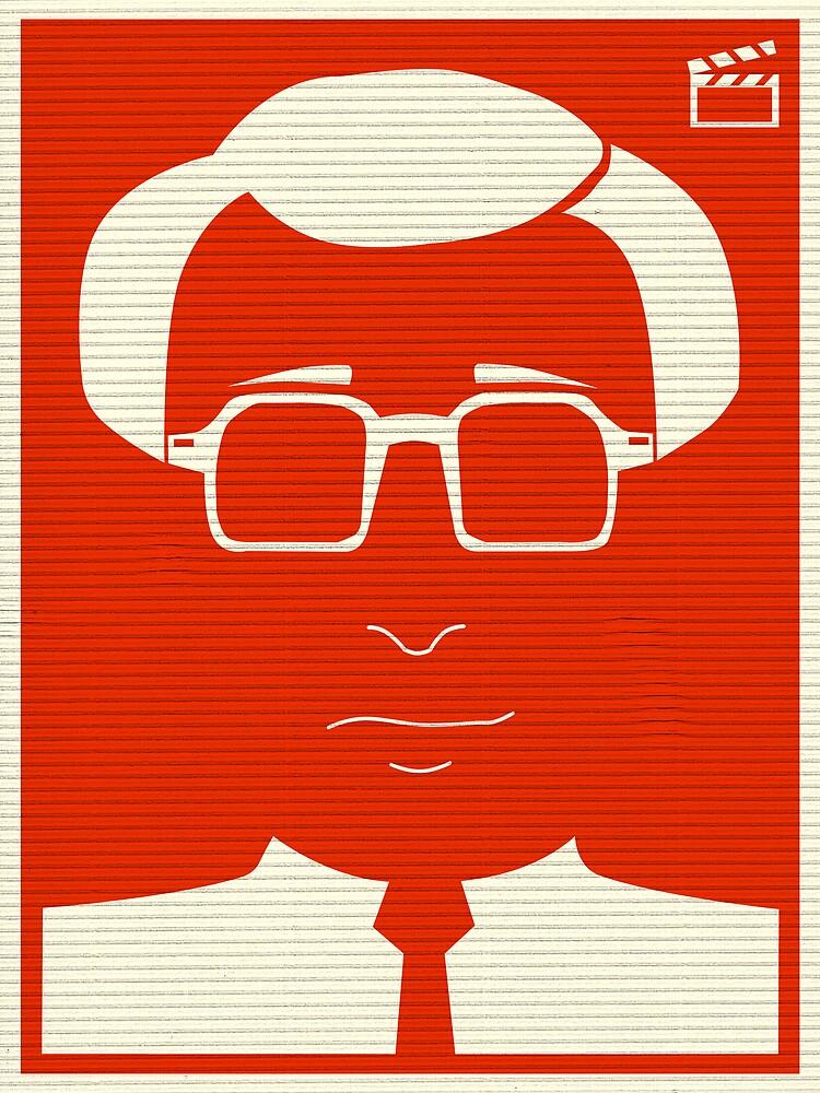 An Identity: Woody Allan by Bo Jong Kim