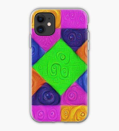 DeepDream Color Squares Visual Areas 5x5K v1448026462 iPhone Case