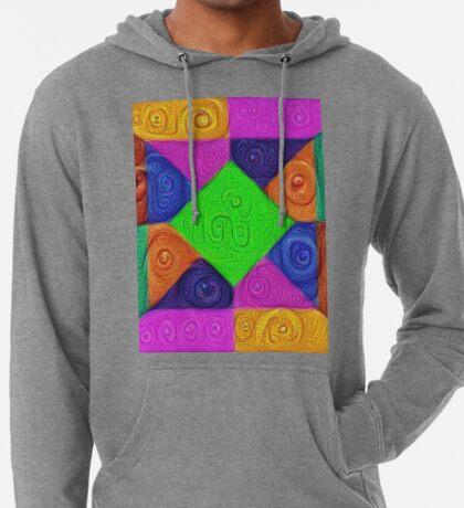 DeepDream Color Squares Visual Areas 5x5K v1448026462 Lightweight Hoodie