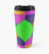 DeepDream Color Squares Visual Areas 5x5K v1448026462 Travel Mug