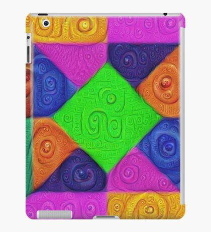 DeepDream Color Squares Visual Areas 5x5K v1448026462 iPad Case/Skin