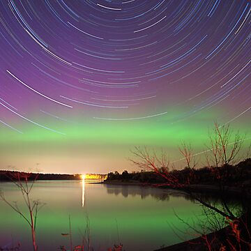 Aurora on the lake by sublime