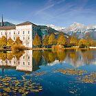 Stift Admont in autumn by Delfino