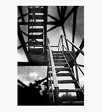 Afraid Of Heights Photographic Print