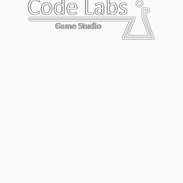 Code  Labs Logo: White by CodeLabGames
