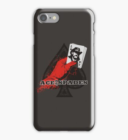 ACE OF SPADES iPhone Case/Skin