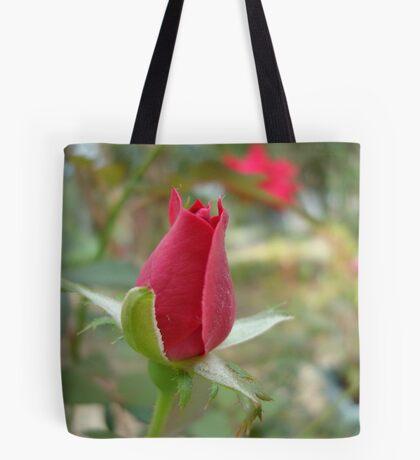 LITTLE RED ROSEBUD Tote Bag