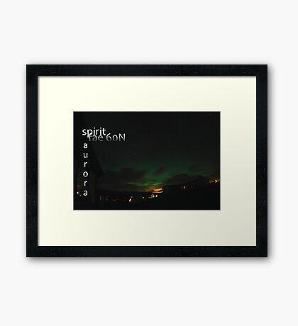 northern night Framed Print