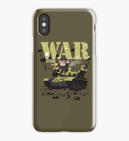 WAR PIGS iPhone Case/Skin