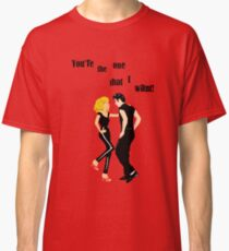 "Grease ""You're the One That I Want"" Classic T-Shirt"