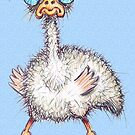 Stressed Ostrich by Sonya Craig