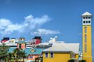 Prince George Wharf & Festival Place in Downtown Nassau, The Bahamas by Jeremy Lavender Photography