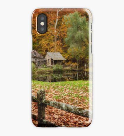 Autumn At Cuttalossa Farm V iPhone Case