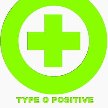 TYPE O POSITIVE  by almasinfe