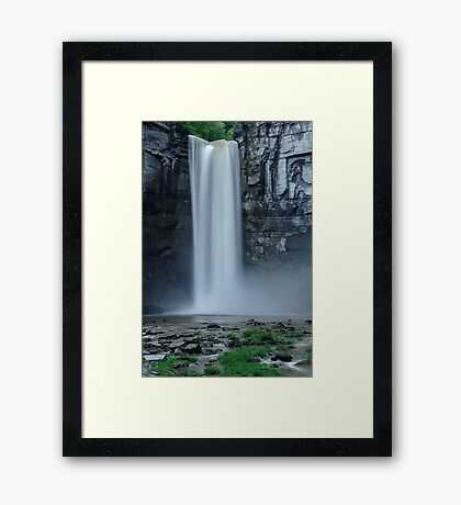 Taughannock Falls - Between Storms Framed Print