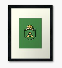 Legend of Zelda - Pocket Link Framed Print