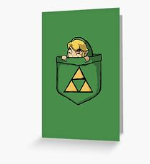 Legend of Zelda - Pocket Link Greeting Card