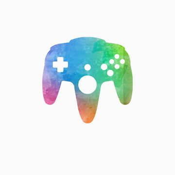 N64 Paint Pad Tee by TooManyPixels