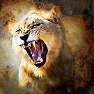 FIRE IN HIS SPIRIT (lion) by RonelBroderick