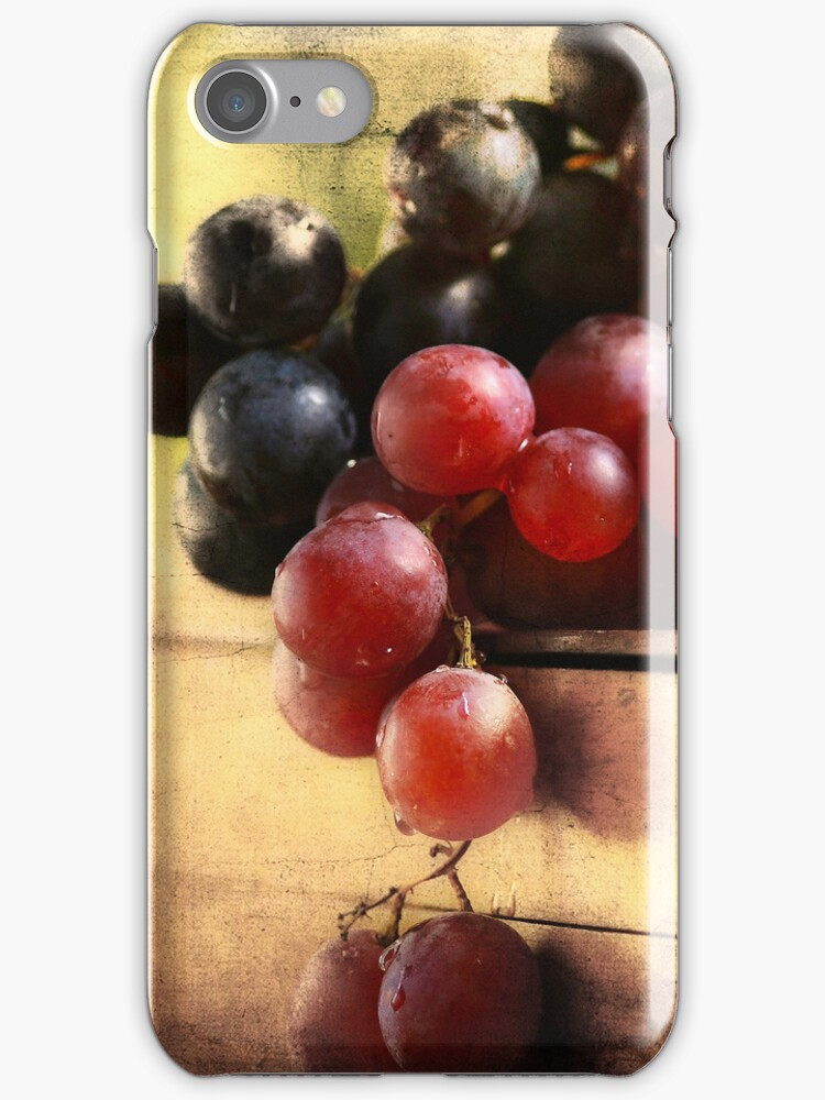 Grapes of the Fall - Mono & Color by Dragos Dumitrascu