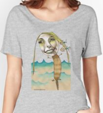 Platypus with People Hairclips Women's Relaxed Fit T-Shirt