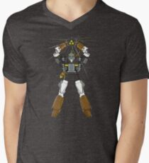 Hylian Matrix of Heroics Mens V-Neck T-Shirt