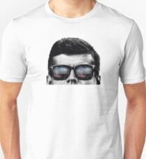 JFK Pop-Art t-shirt (black & White) Unisex T-Shirt