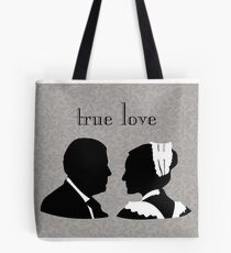Anna and Bates true love Tote Bag
