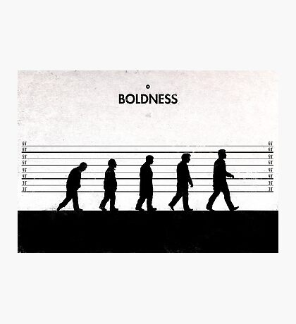 99 Steps of Progress - Boldness Photographic Print
