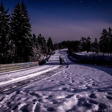 Pflanzgarten by night by BridgeToGantry