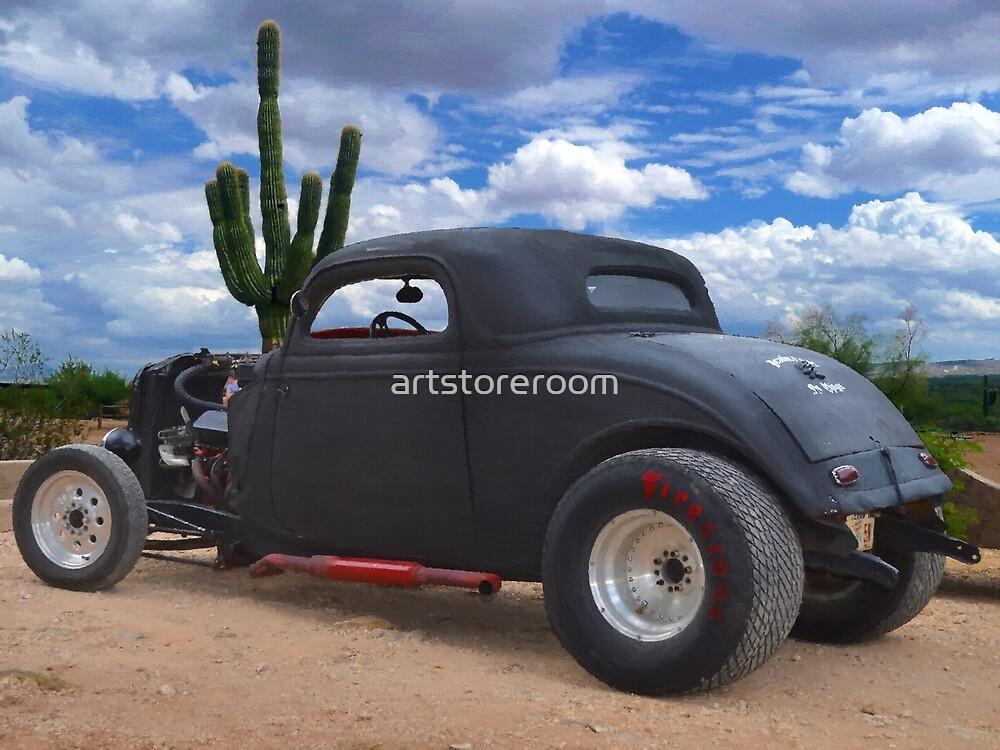 Desert Rat Rod by artstoreroom