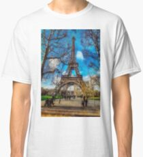 Eiffel Tower in January Classic T-Shirt