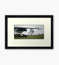 missile Framed Print