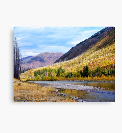 Glacier Park Autumn 4 Canvas Print