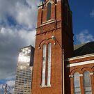 First United Methodist, Little Rock, Ark USA by WildestArt